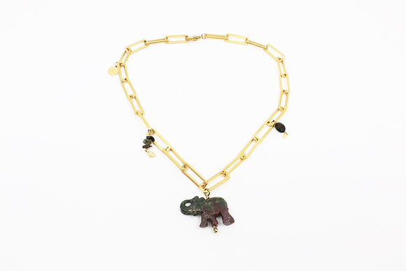 Chocker Lucky Elephant bicolor