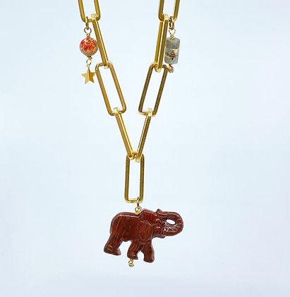 Chocker Lucky Elephant doux