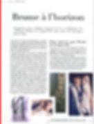 Lulu Magazine article Brume de Longuevil