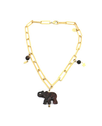 Chocker Lucky Elephant bicolor