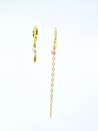 Boucles Douce roses