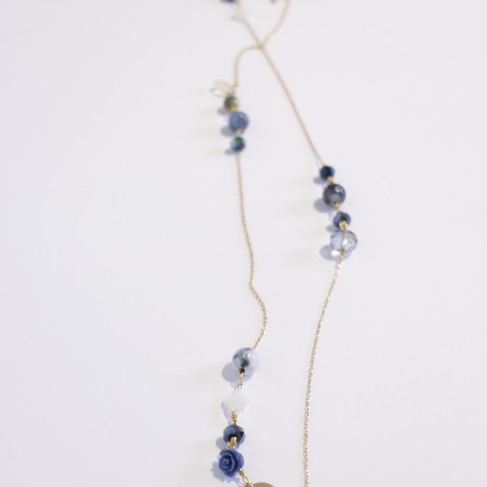 Long necklace collection Précieuses Célestes