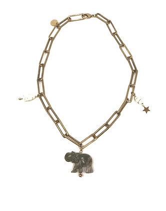 Chocker Lucky Ivory Elephant
