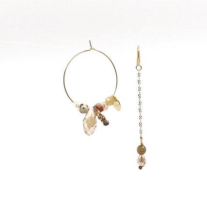 Boucles d'oreilles Ethnic Lady - Gold