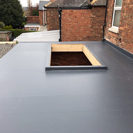 Rear extension with rooflight