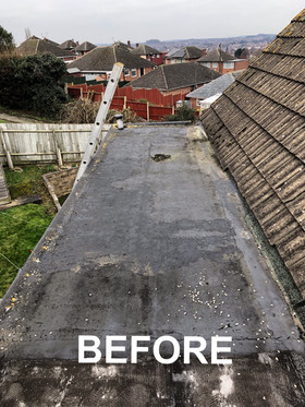 Before of dorma roof
