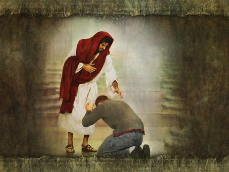 O Homem do Calvário se tornou Senhor