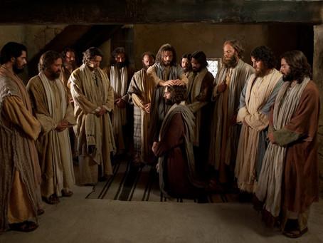 Os 12 e o Evangelho de Jesus