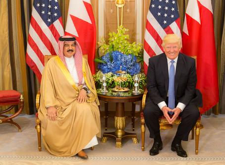 Trump anunciará acordo de paz entre Israel e Bahrain
