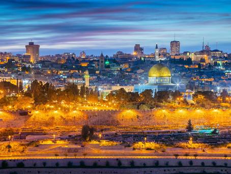 Jerusalém, não me esquecerei de ti