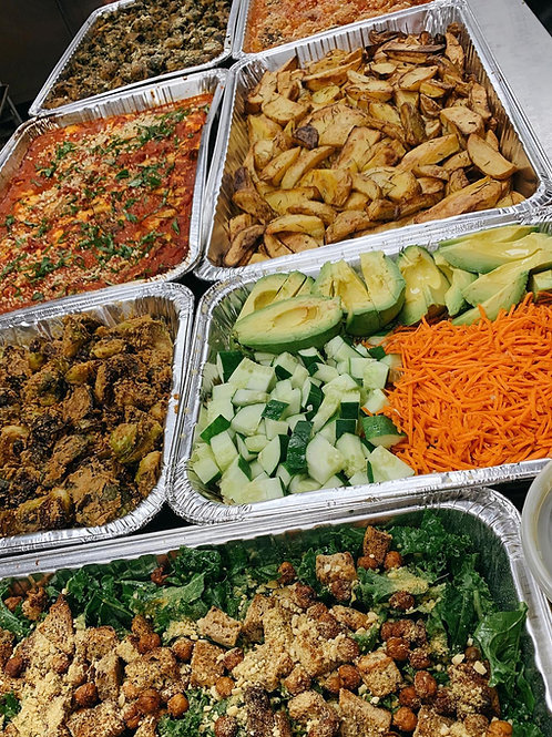 sides half trays (6-8 servings)
