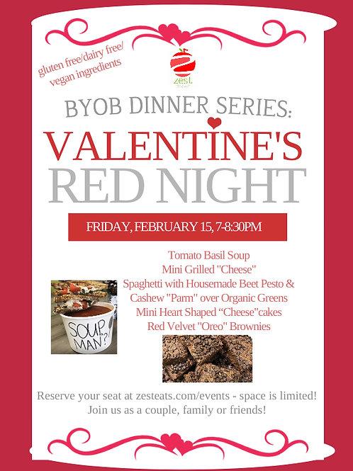 BYOB Valentines Dinner