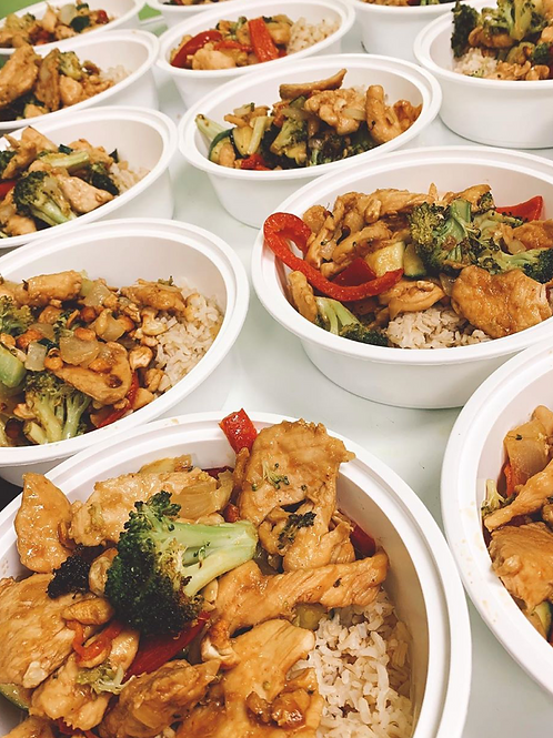 meal prep - individual dinners
