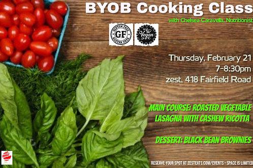 BYOB Cooking Class