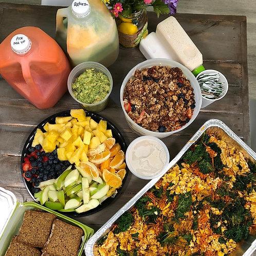breakfast half trays (6-8 servings)
