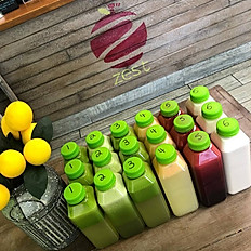 juice cleanse ($60 per day)
