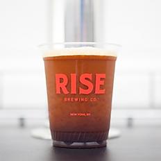 rise brand nitro cold brew on tap