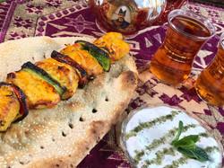 Chelow jojeh kebab