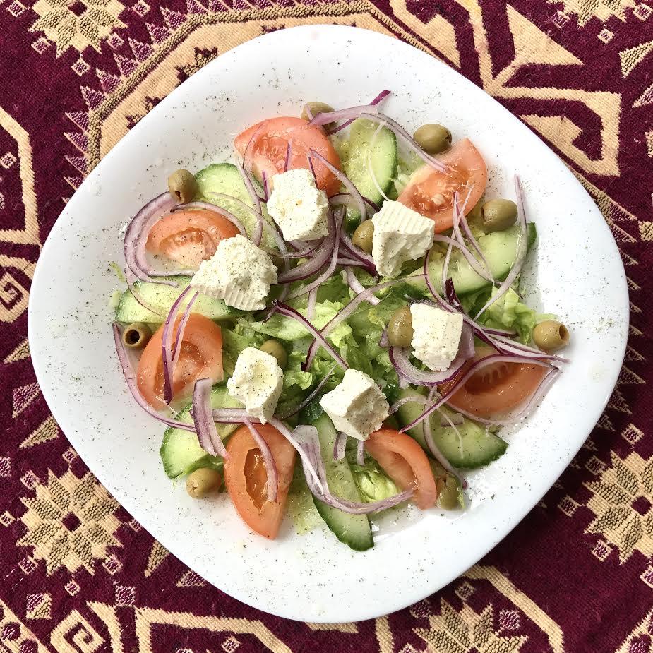 Saba Special Salad