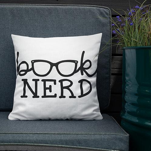 Book Nerd Premium Pillow