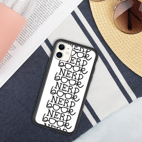 Book Nerd - iPhone Biodegradable phone case