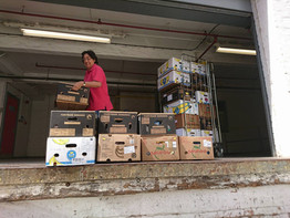 Your Aid Delivered for #Love4Lesvos!
