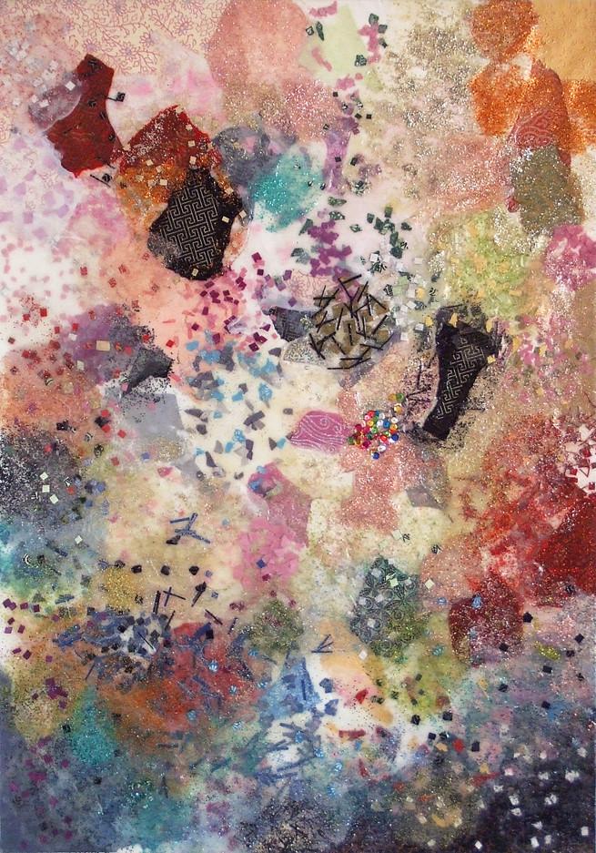 2008-6, mixed media on canvas