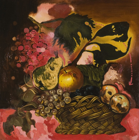 Untitled, oil on canvas, 30x30 inches, 2006