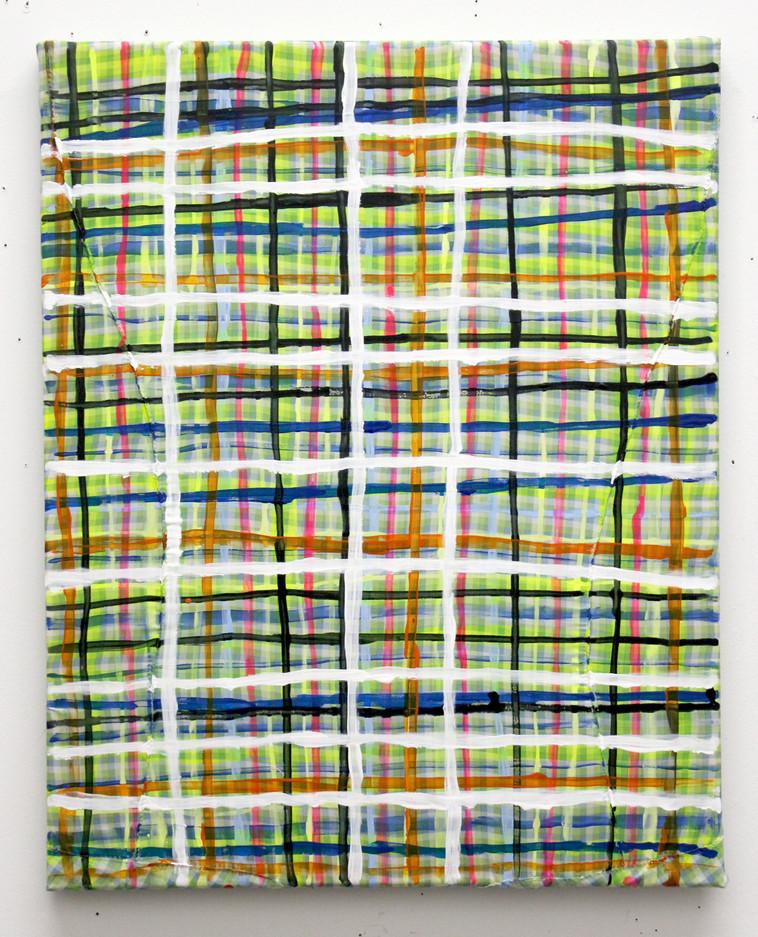 2019-2, acrylic on fabric