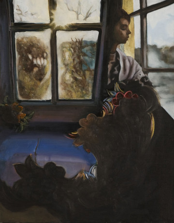 Untitled, oil on canvas, 40 x 30 inches, 2006