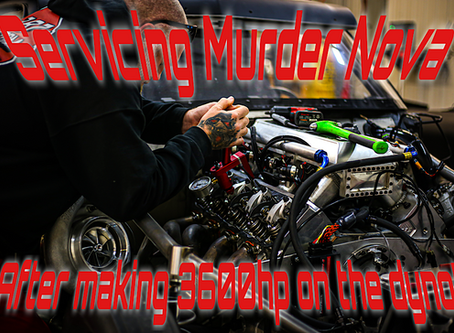 What does Murder Nova need after making 3600hp?