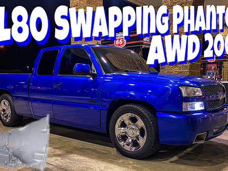 Swapping 4L80E into Phantom's 2003 AWD Silverado SS