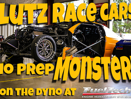 Lutz Race Cars New Prep Bullet on the Dyno at FuelTech