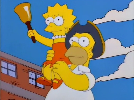 "Archives on TV: The Simpsons, ""Lisa the Iconoclast"""