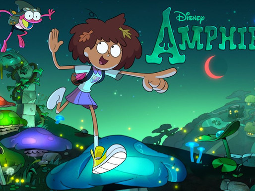 """Archives on TV: Amphibia, """"Trip to the Archives"""""""