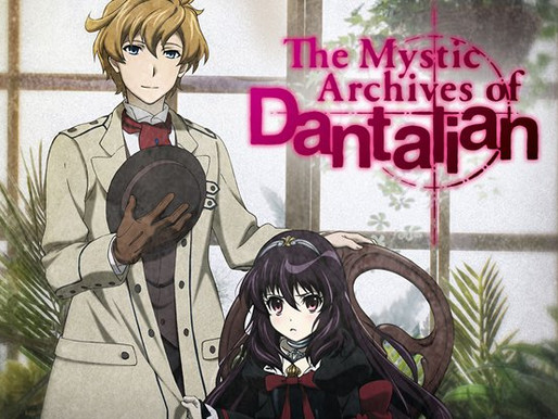 Archives in Anime: The Mystic Archives of Dantalian