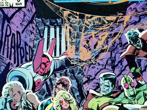 Archives in Comics: The X-Men and the Micronauts #3