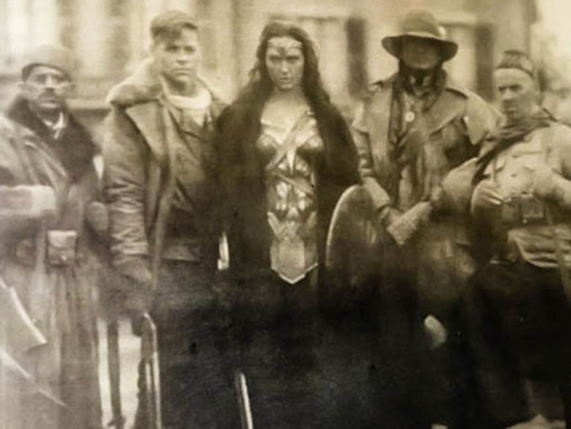 Archives in the Movies: Wonder Woman