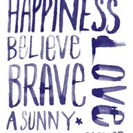 Believe. Brave