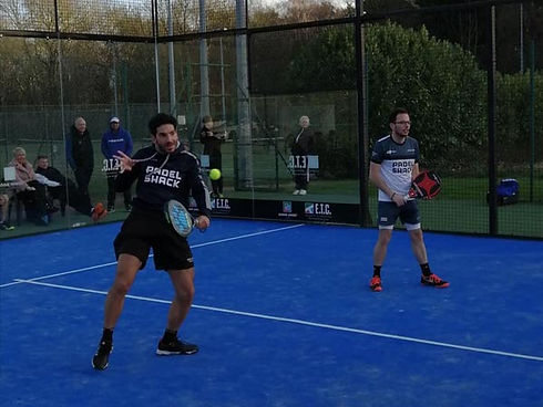 Padel courts in Brentwood, Essex