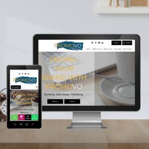 Marketing agency website design