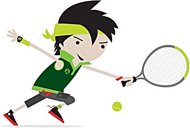 Green Ball tennis squad Essex