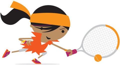Orange Ball tennis squad coaching in Essex