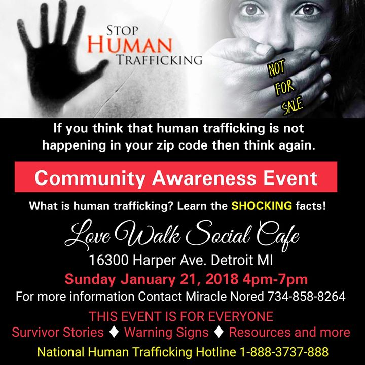 First Human Traffick Awareness Event