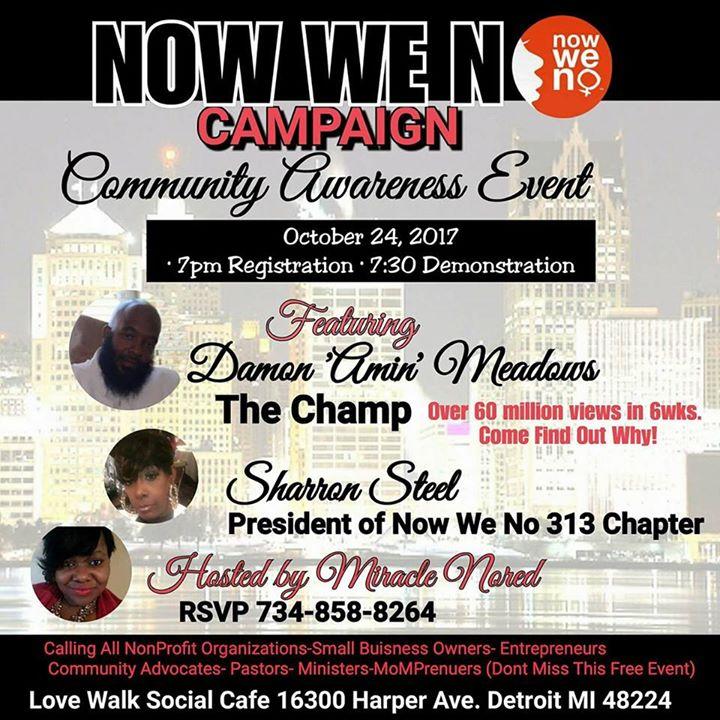 Now We No campaign Damon Am