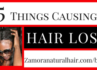 What's Causing Your Hair Loss?