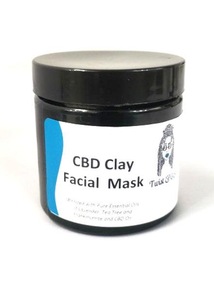 CBD Facial Clay Mask