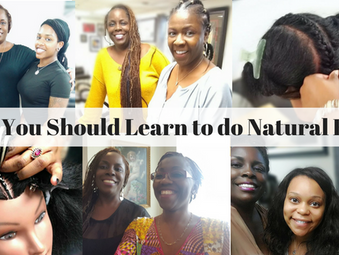 Learn To Do Natural Hair!