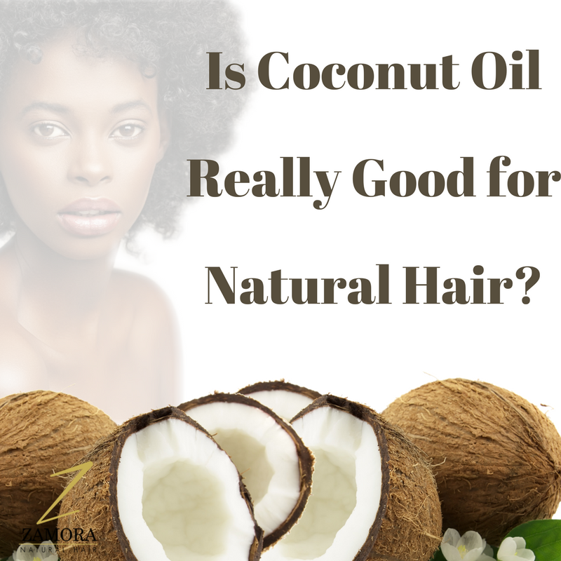 Coconut Oil and natural hair, best coconut oil for natural hair.
