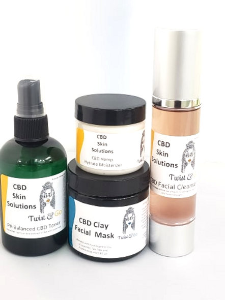 CBD Skin Care 4 Step System